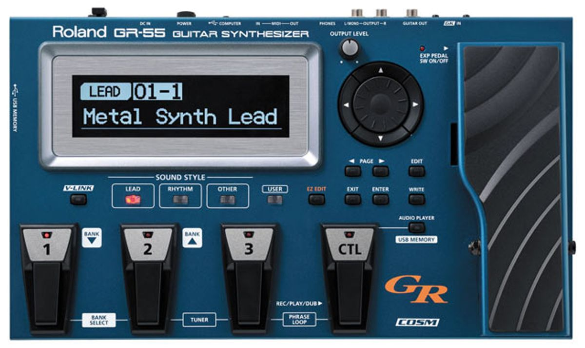 Roland GR-55 Guitar Synthesizer Review