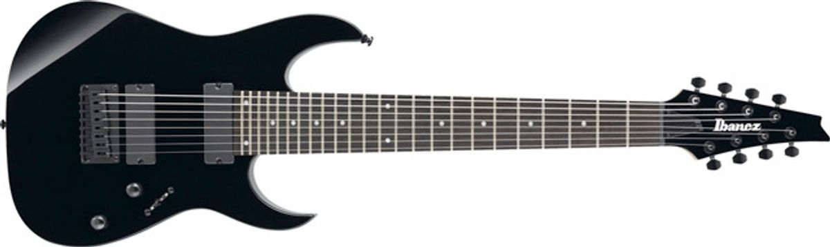 Ibanez Introduces RG8 8-String Electrics