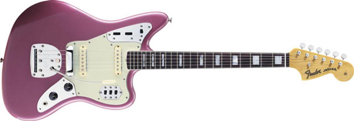 Fender Introduces the 50th Anniverary Jaguar Guitar