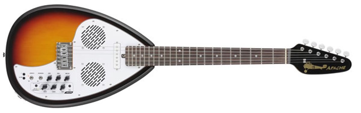 VOX Announces Apache Series Travel Guitars