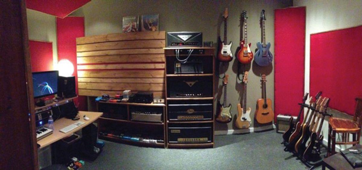 Tone Tips: The Road Guitarist's Studio, Pt. 2: The Control Room