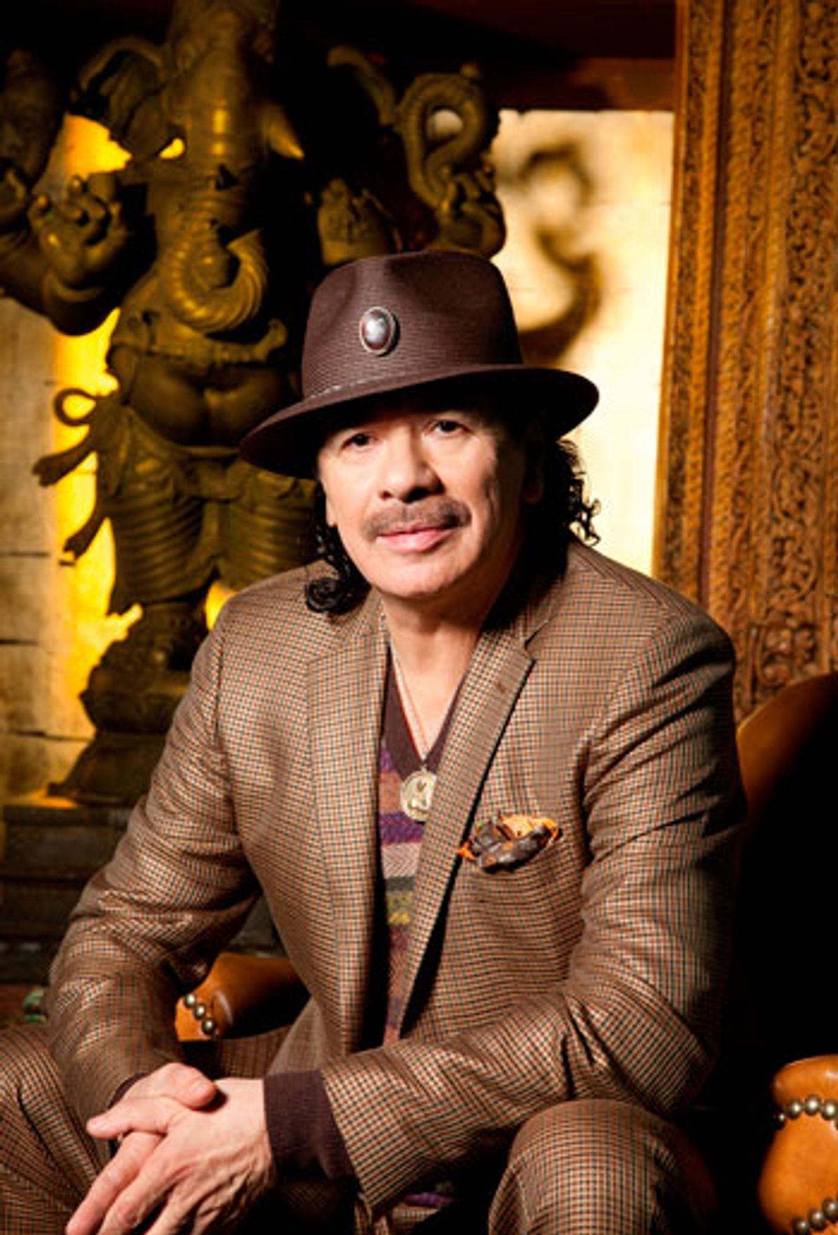 "Interview: Santana Gets ""Spiritually Horny"" Making ""Shape Shifter"""