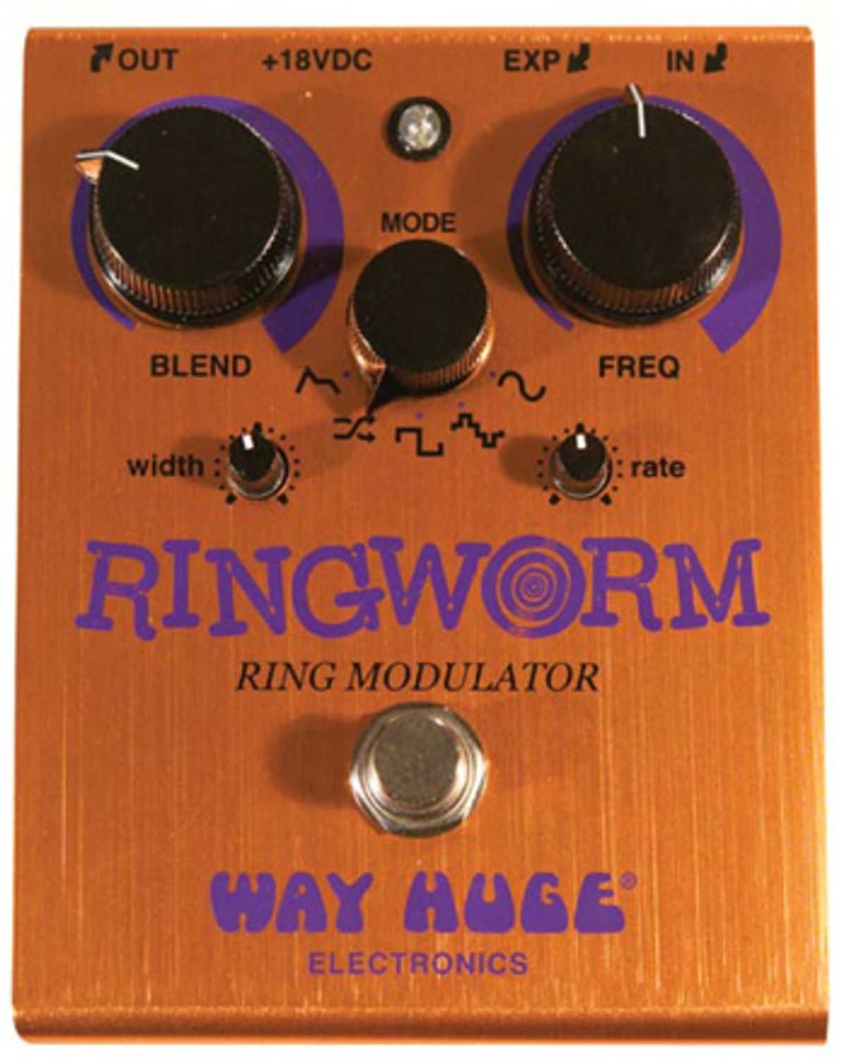 Way Huge Ring Worm Pedal Review