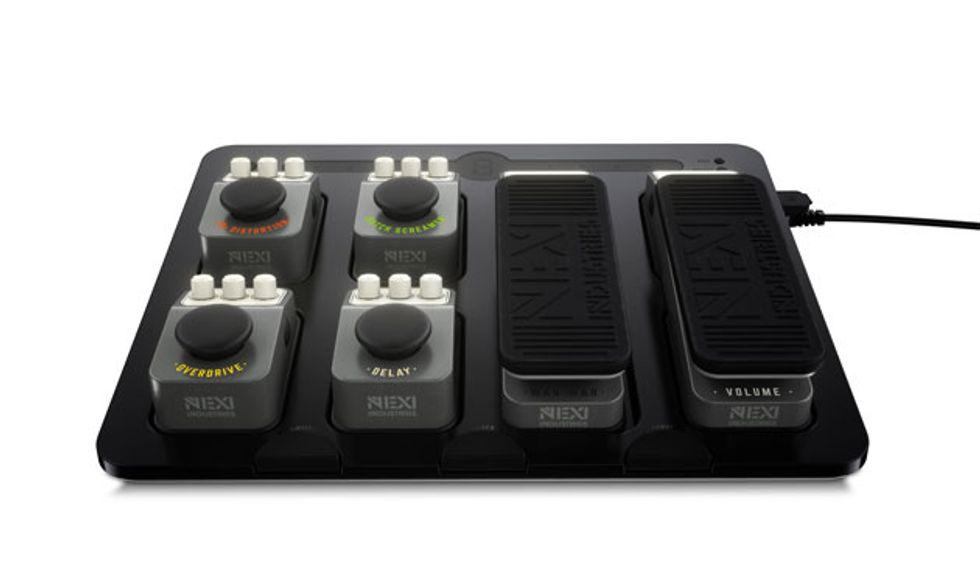 nexi industries releases the solution pedalboard premier guitar. Black Bedroom Furniture Sets. Home Design Ideas