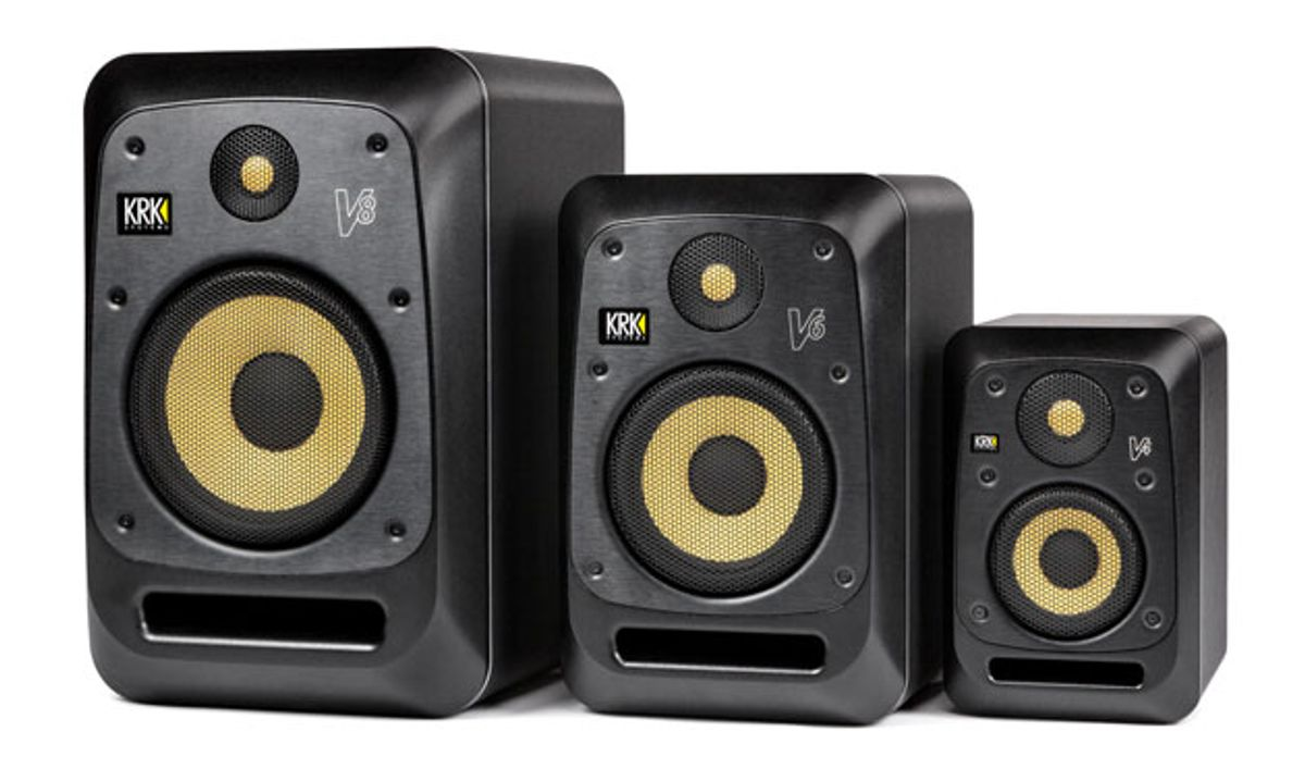 KRK Debuts V Series Monitors