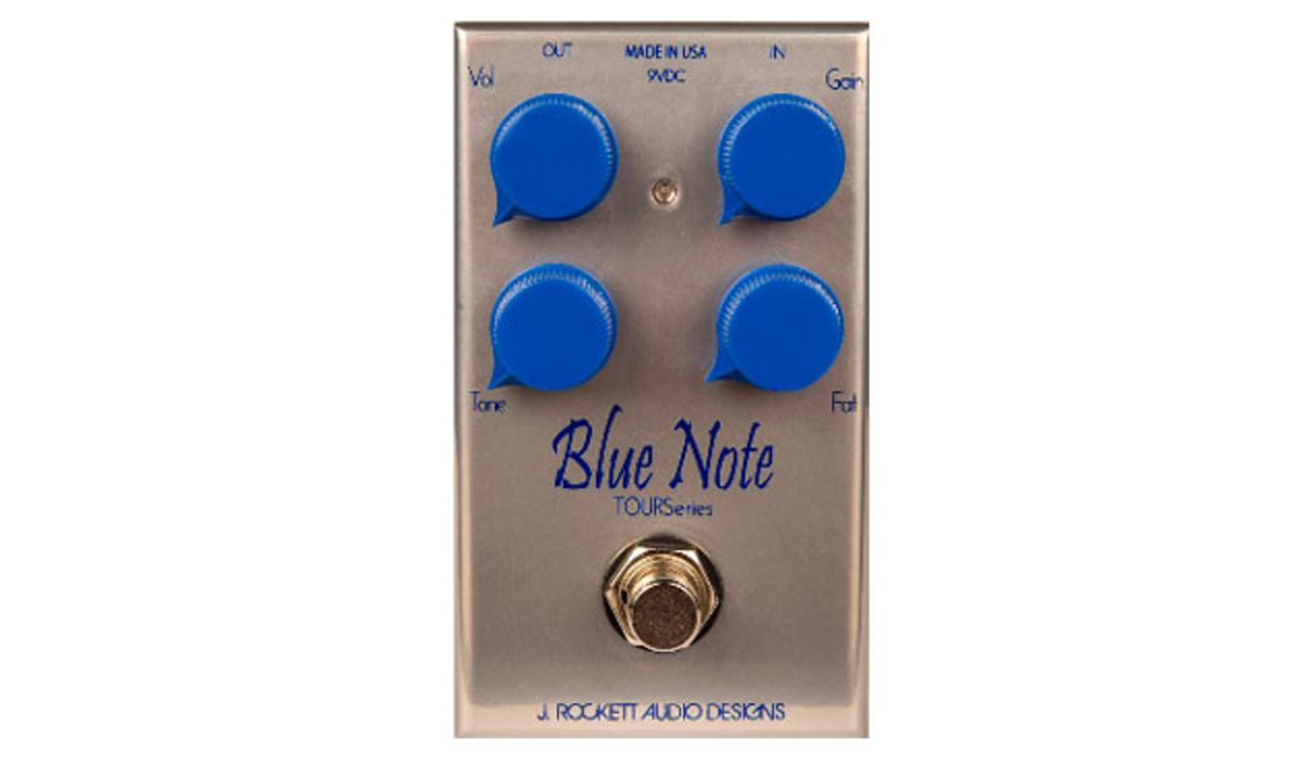 J. Rockett Audio Designs Releases the Tour Series Blue Note Overdrive