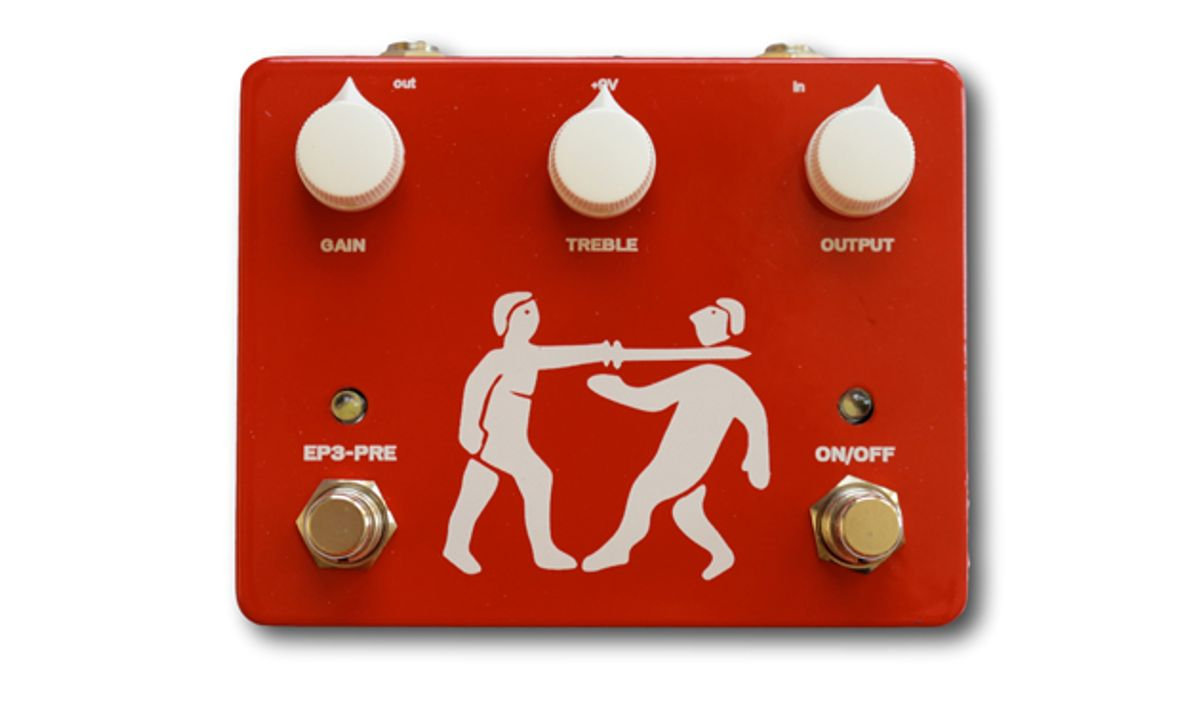 Pirate Guitar Effects Releases the Plank Preamp & Boost