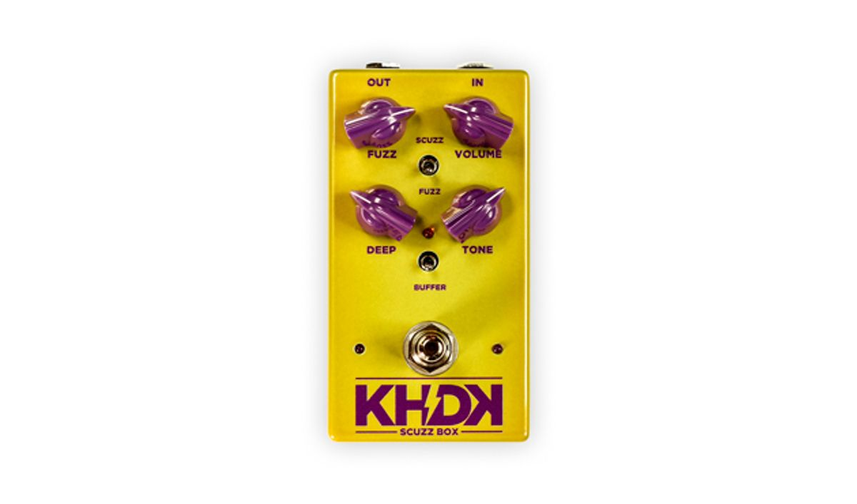 KHDK Electronics Unveils the Scuzz Box