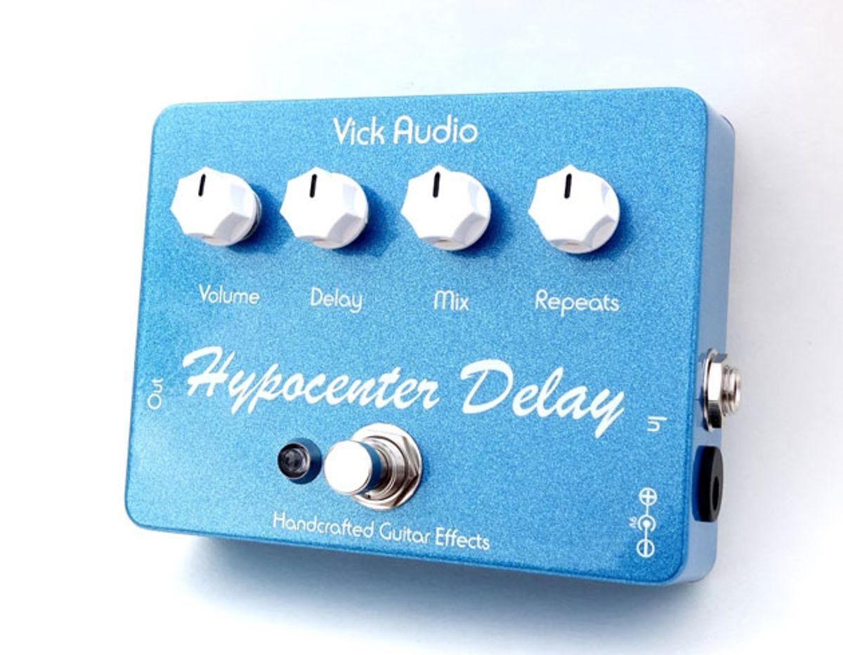 Vick Audio Introduces the Hypocenter Delay