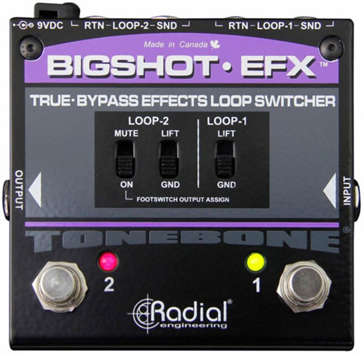 Radial Engineering Introduces the BigShot EFX