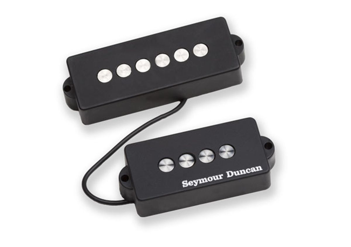 Seymour Duncan Releases Quarter Pound For 5-String P Bass