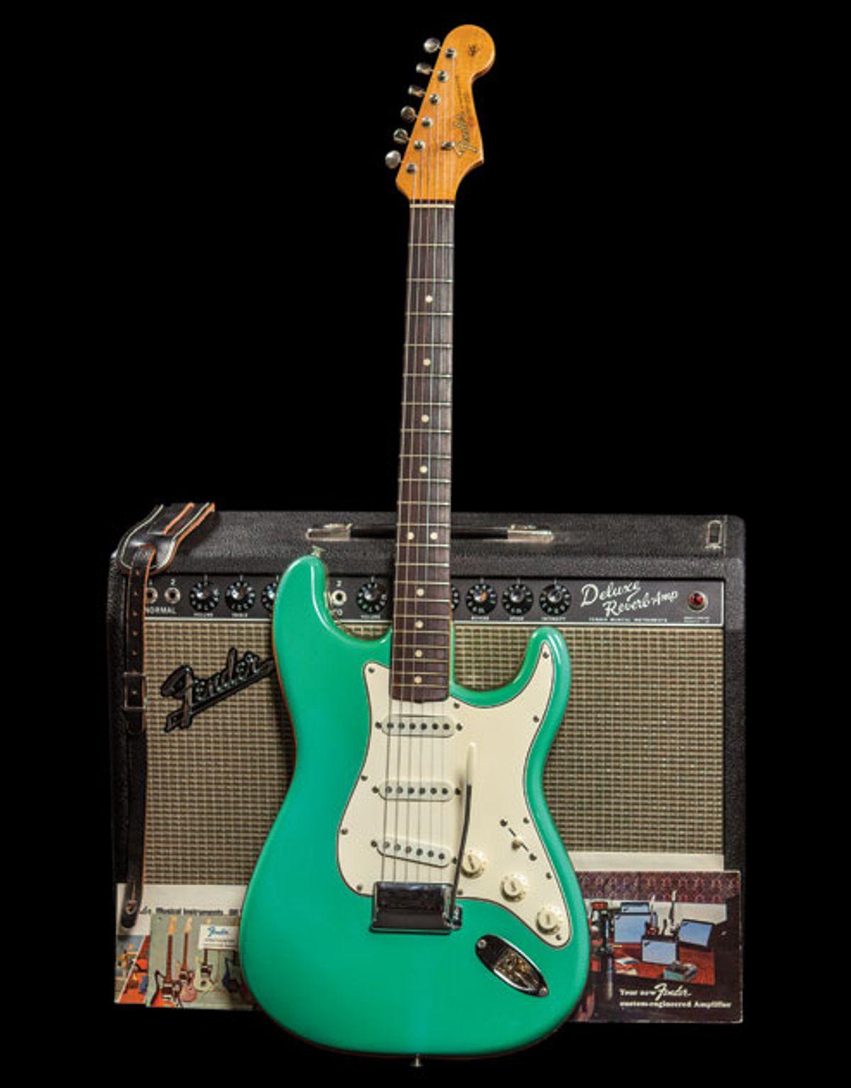 Vintage Vault: 1965 Foam Green Fender Stratocaster