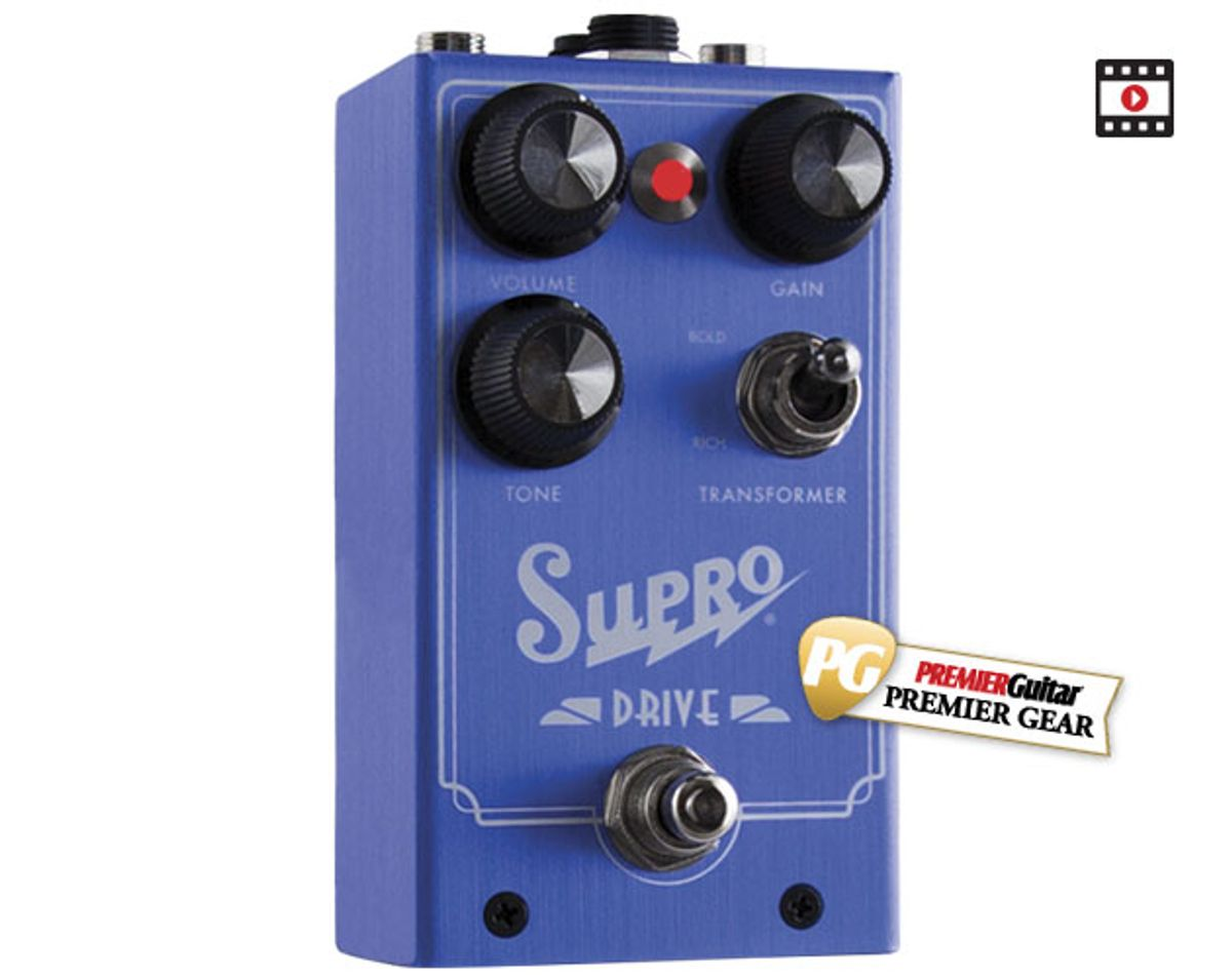 Supro 1305 Drive Review