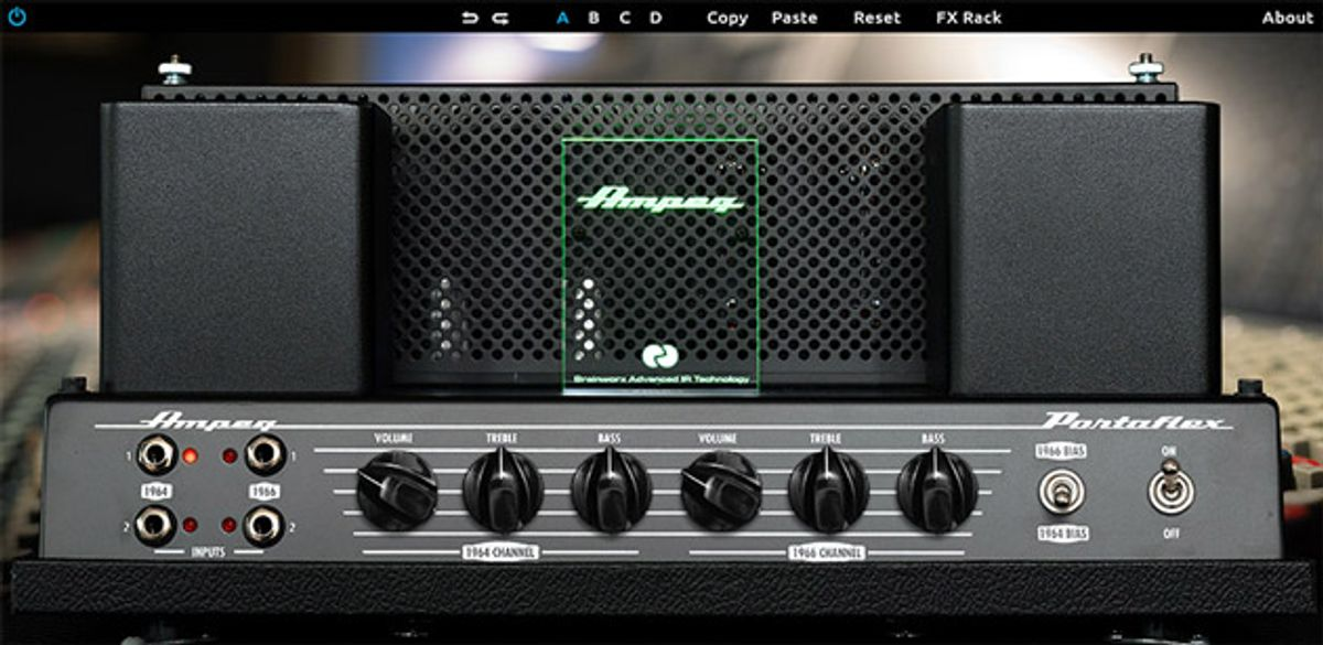 Universal Audio Introduces the Ampeg B-15N Bass Amplifier Plugin