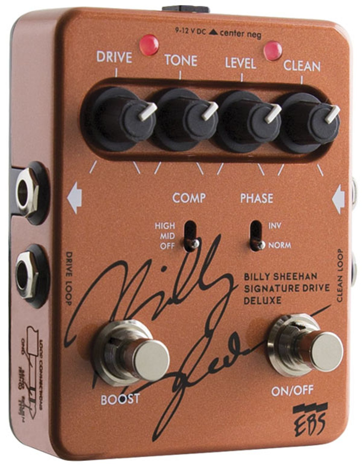 EBS Billy Sheehan Signature Drive Deluxe Review