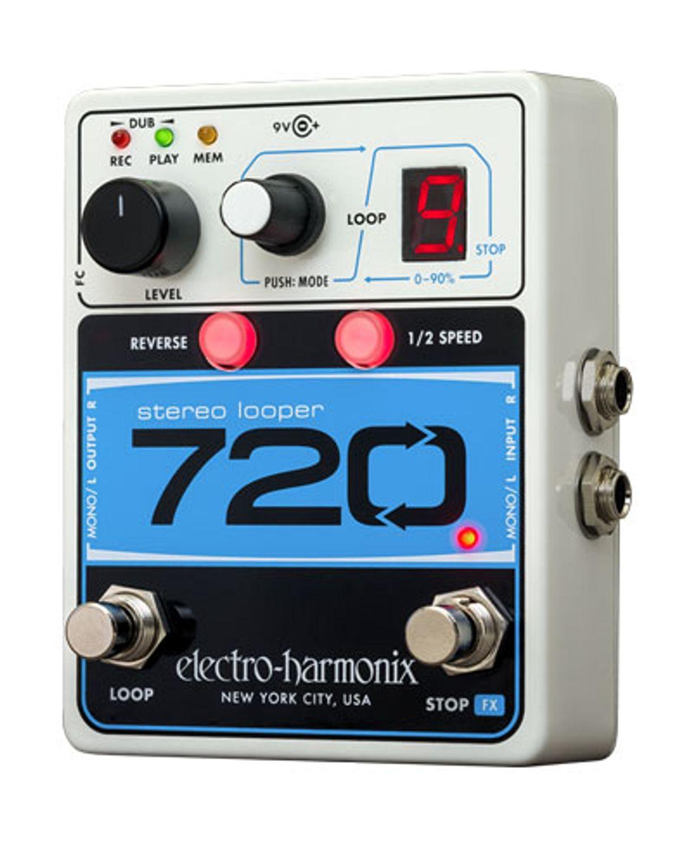 Electro-Harmonix Unveils the 720 Stereo Looper