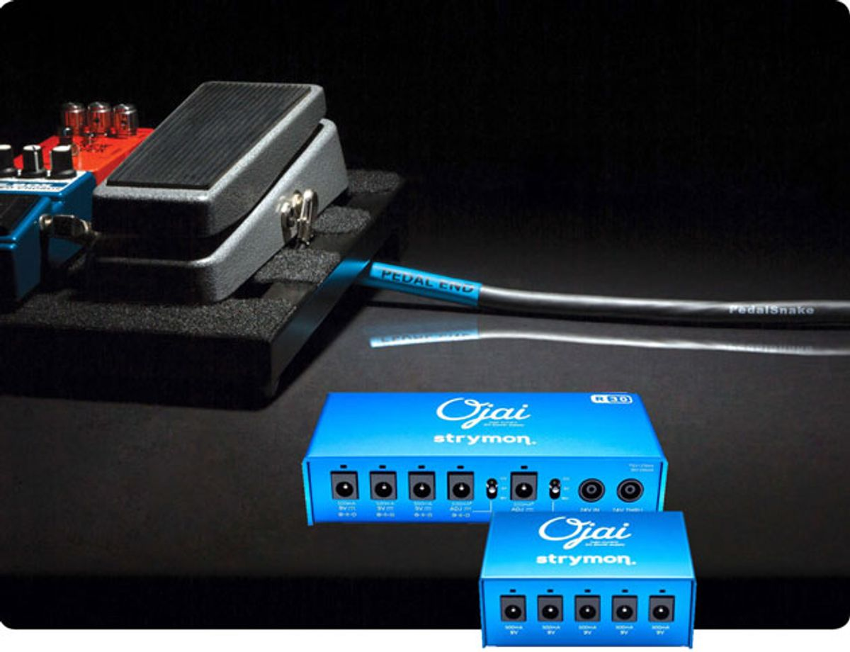 PedalSnake Introduces 24V Adapters for Strymon Power Supplies