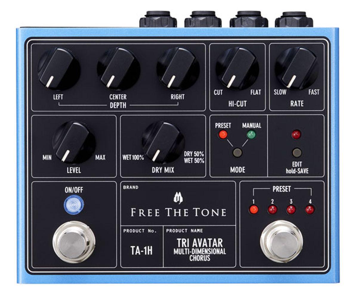 Free The Tone Introduces the TA-1H Tri Avatar