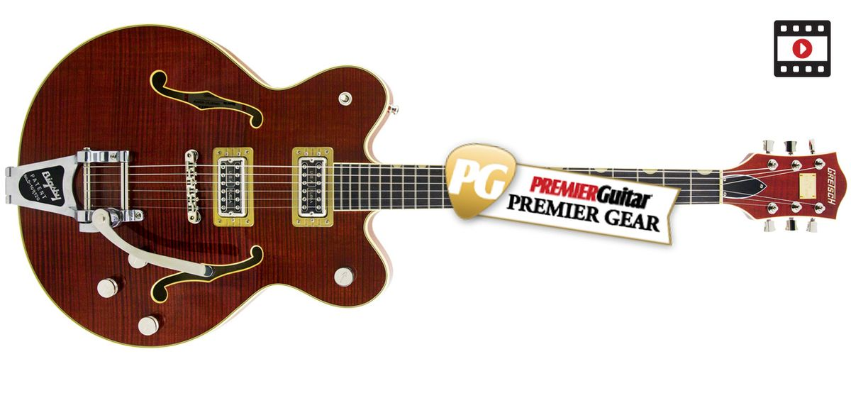 Gretsch G6609TFM Players Edition Broadkaster Review