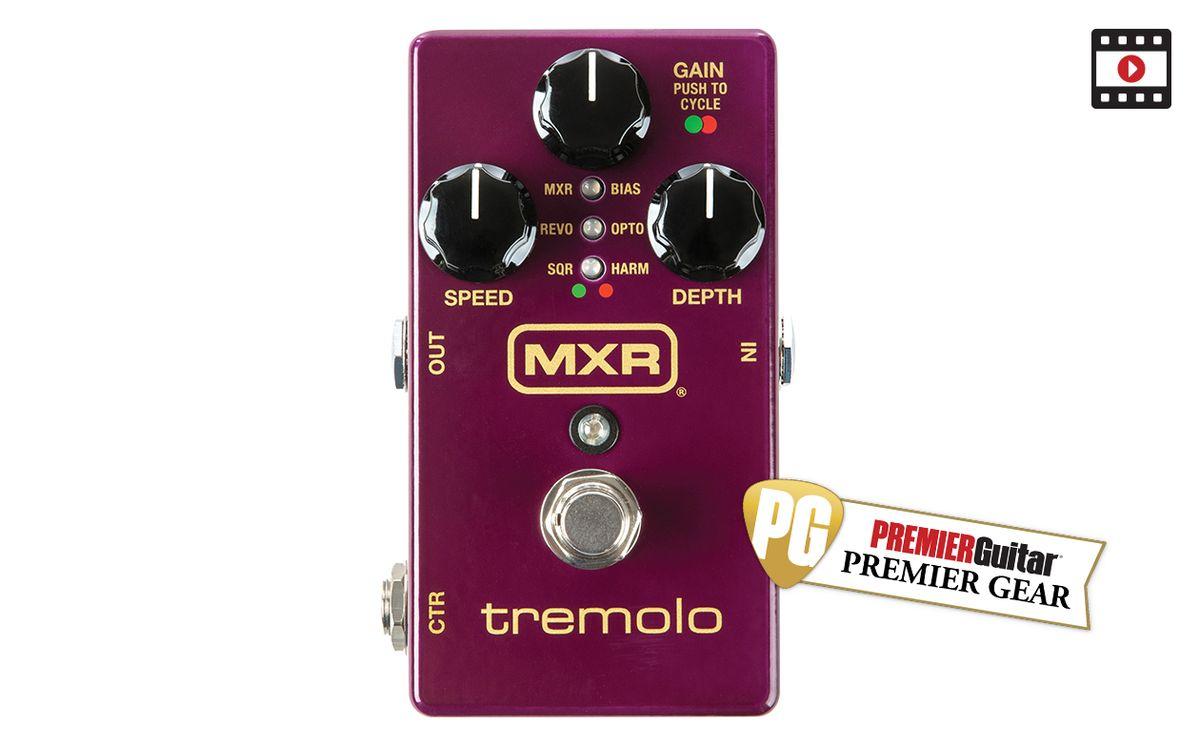 MXR Tremolo: The Premier Guitar Review