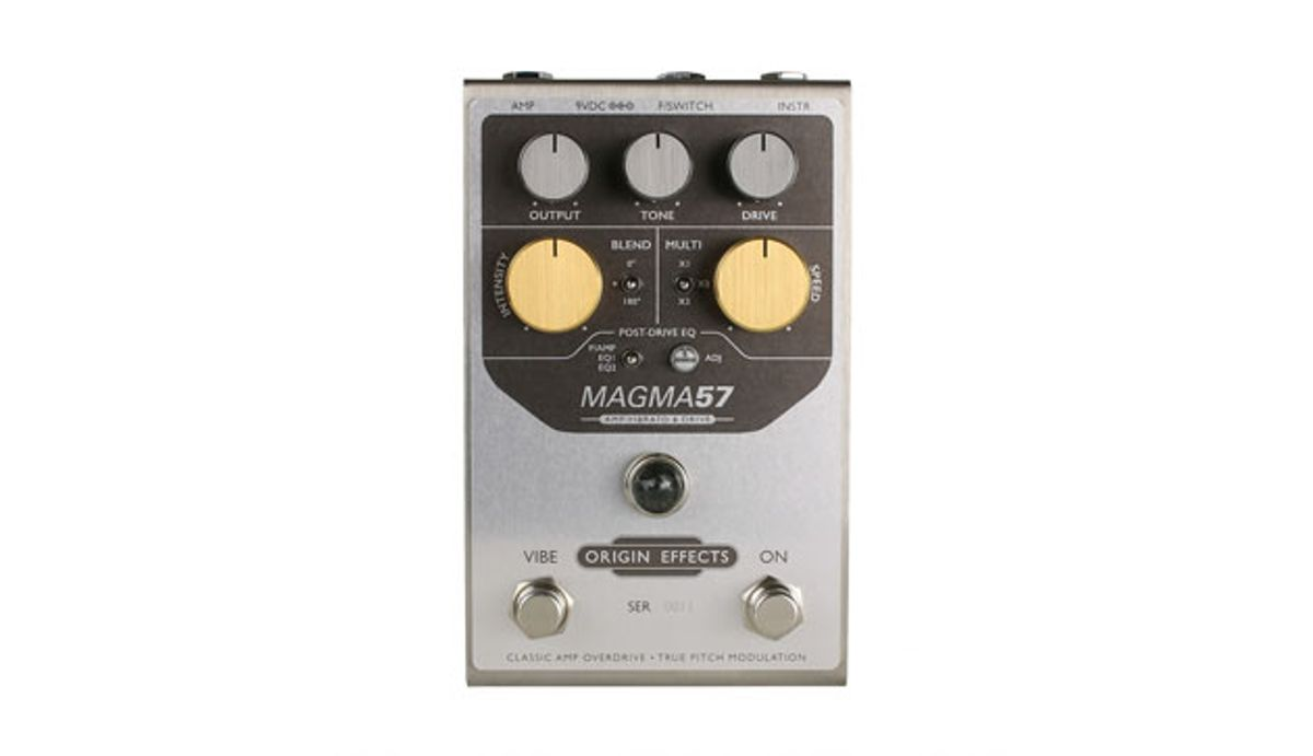 Origin Effects Introduces the Magma 57
