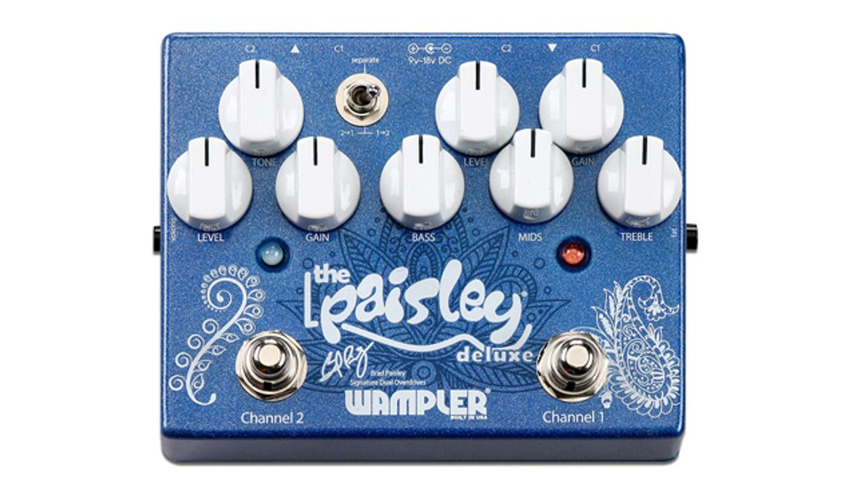 Wampler Pedals Introduces the Paisley Drive Deluxe