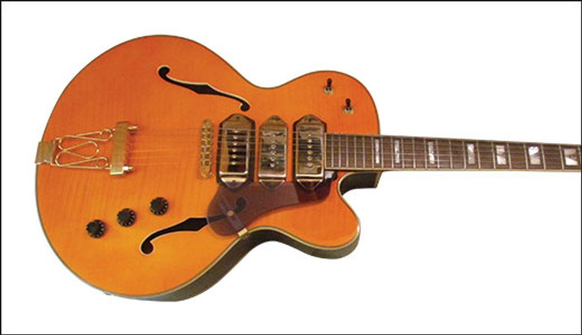 Will Ray's Bottom Feeder: Jay Turser JT-SM Hollowbody Jazz Guitar