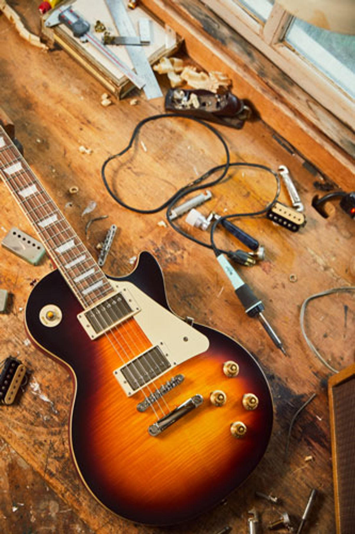 Epiphone and Gibson Custom Shop Collaborate on 1959 Les Paul Standard Model