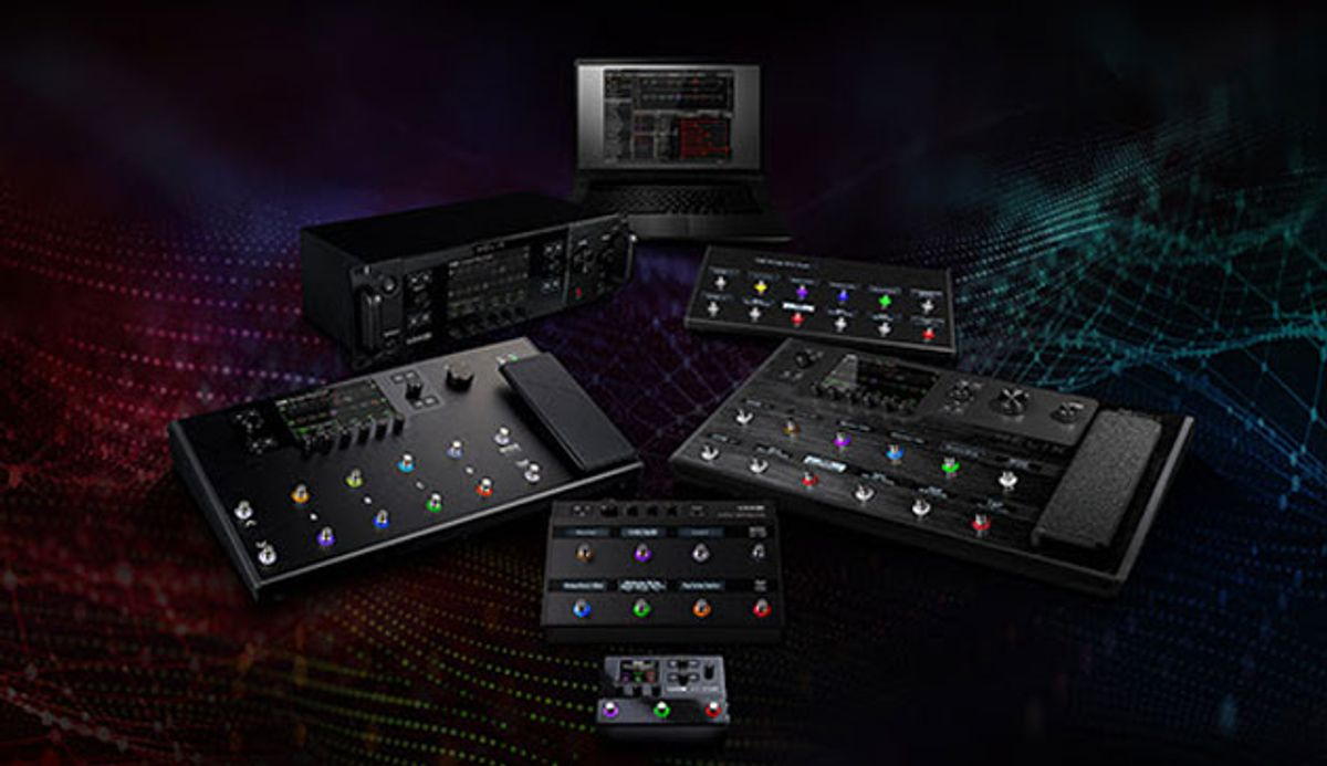 Line 6 Introduces Helix 3.0 Firmware
