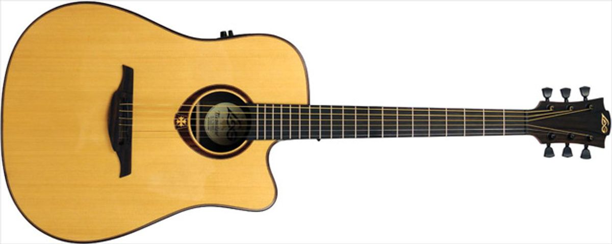 Lâg Tramontane T400DCE Acoustic Guitar Review