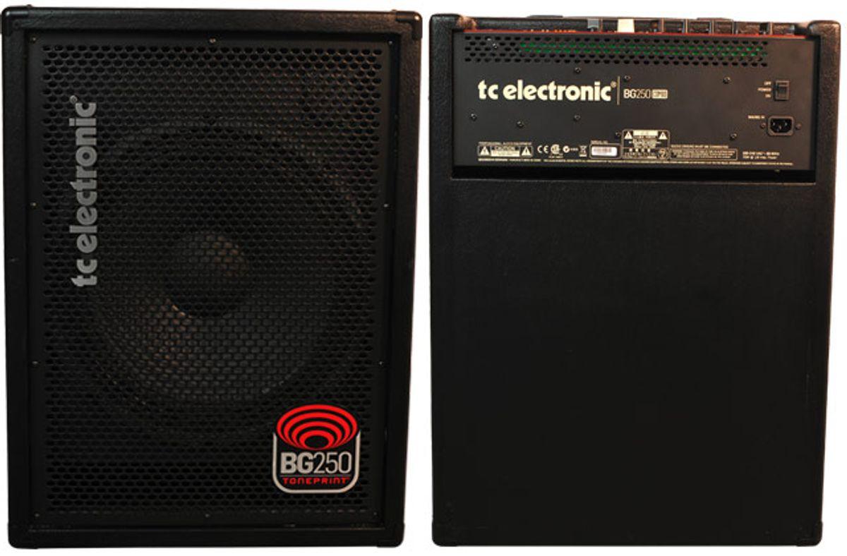TC Electronic BG250 Bass Amp Review
