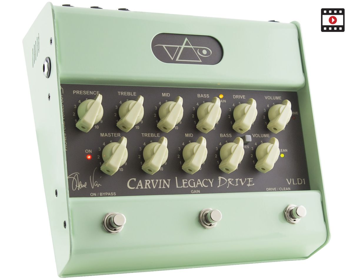Carvin VLD1 Legacy Drive Review