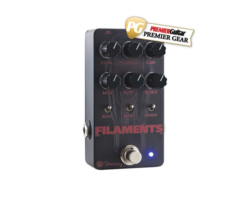 Keeley Filaments Review | Premier Guitar on