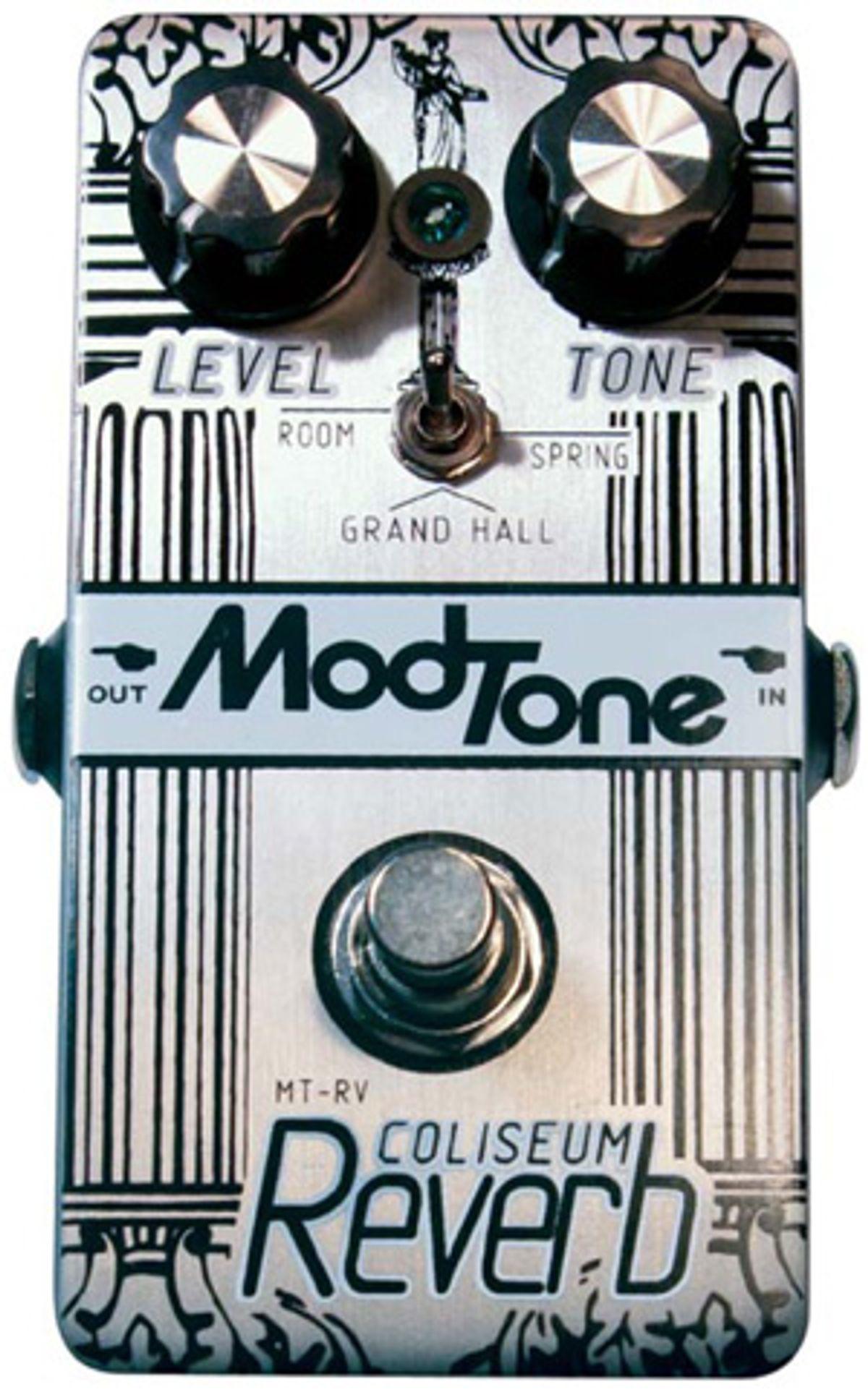 Modtone Effects Coliseum Reverb Pedal Review