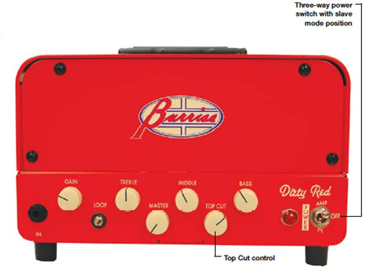 Burriss Amps Dirty Red Amp Head Review