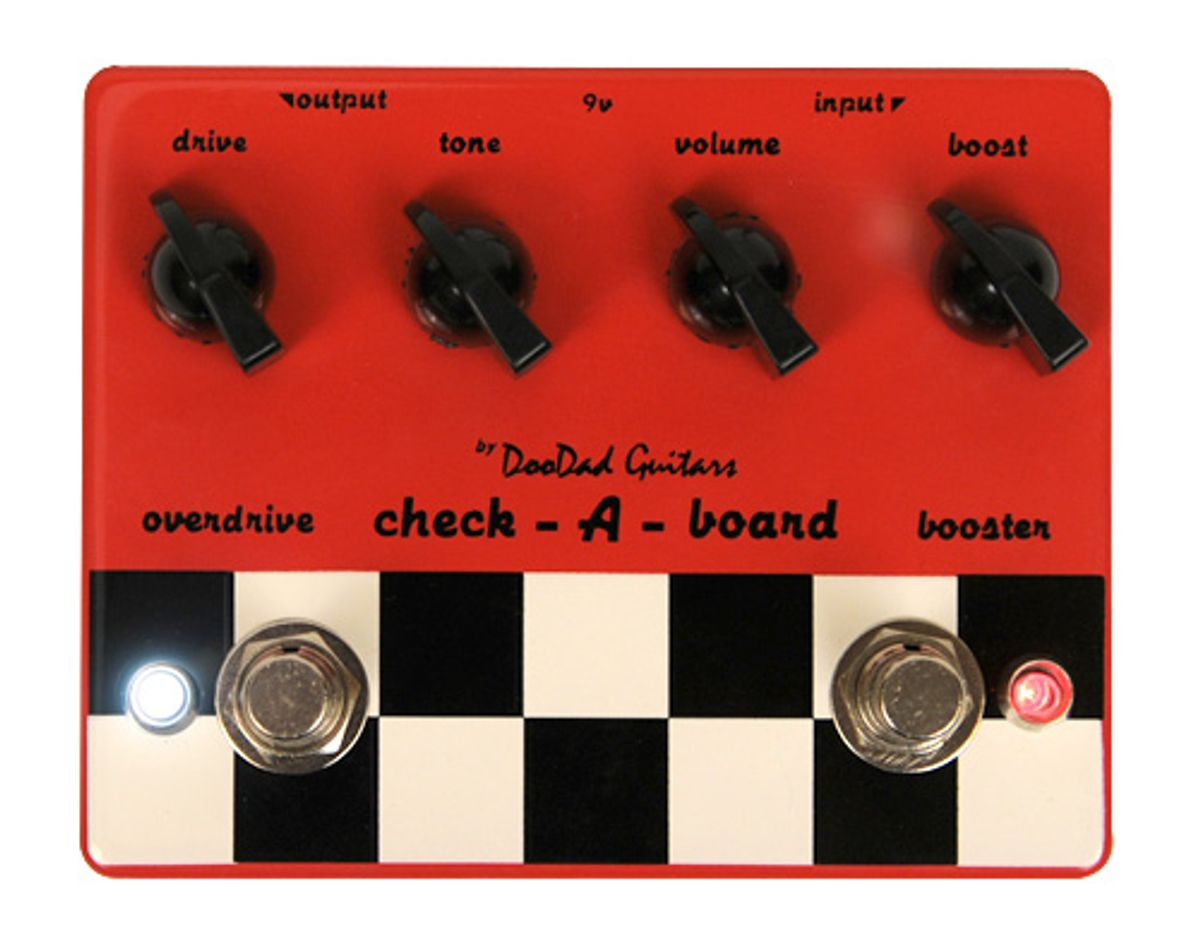 DooDad Guitars Check-a-Board Overdrive and Boost Pedal Review