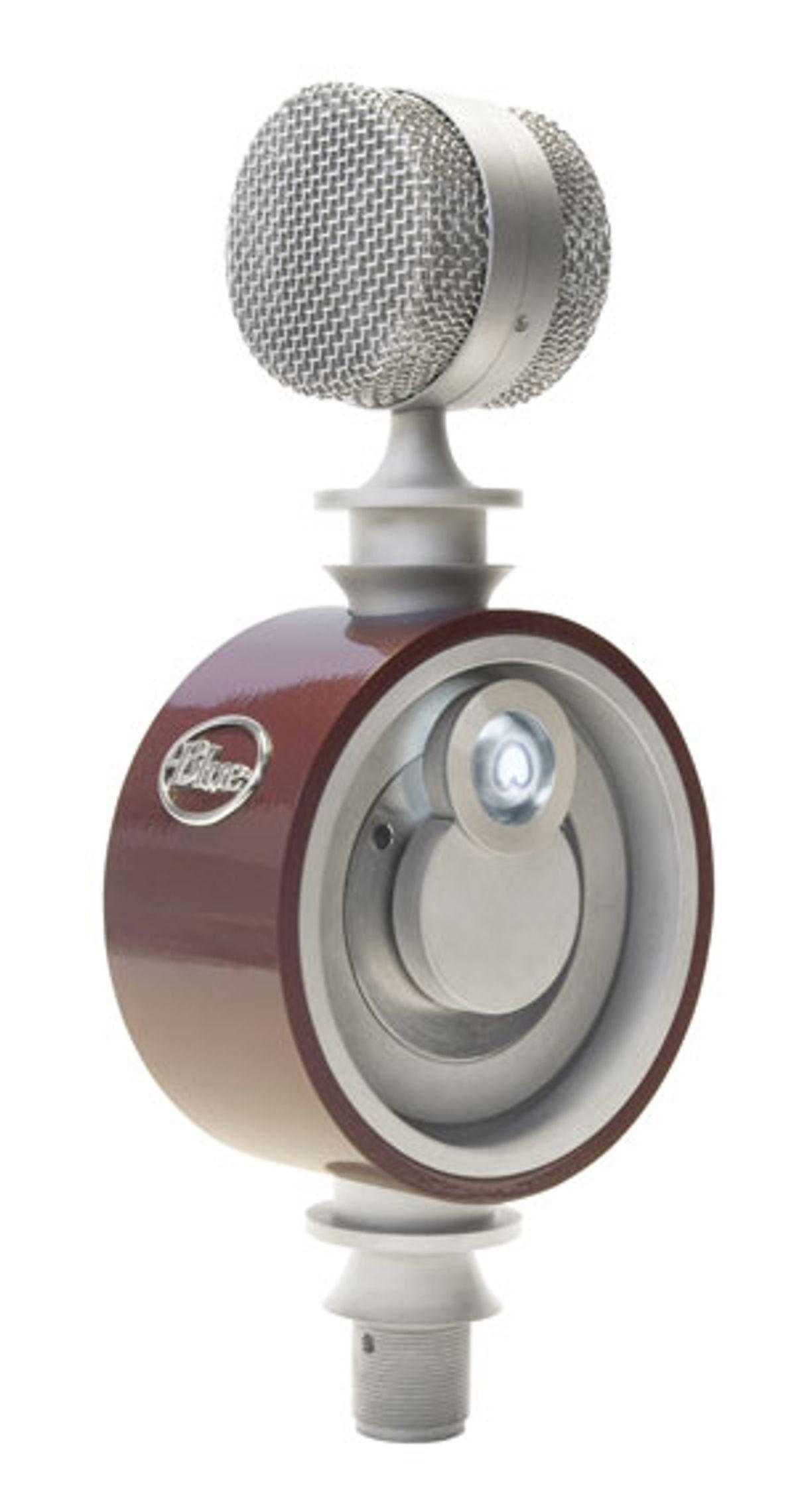 Blue Microphones Announces Reactor Multi-Pattern Recording Microphone