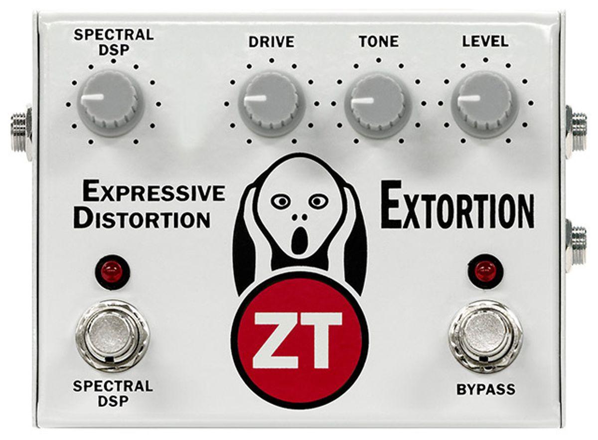 ZT Amplifiers Releases Extortion Expressive Distortion