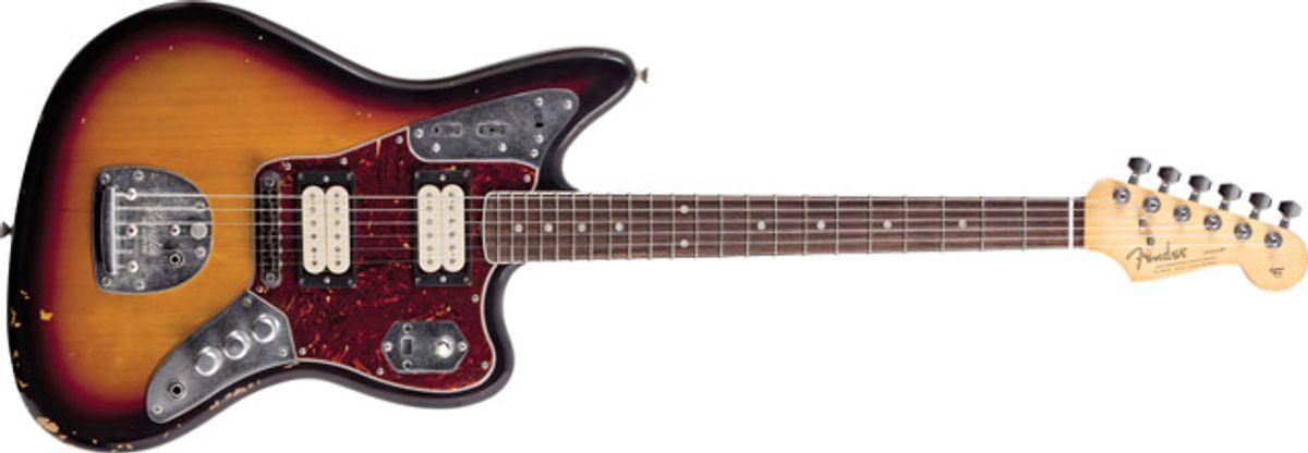 Fender Announces Kurt Cobain Jaguar Guitar