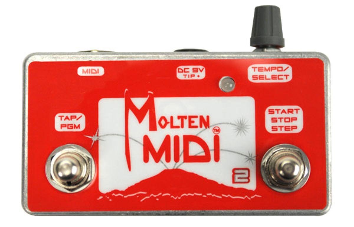Molten Voltage Molten MIDI 2 Pedal Review