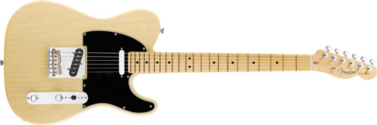 Fender 60th Anniversary Telecaster Electric Guitar Review