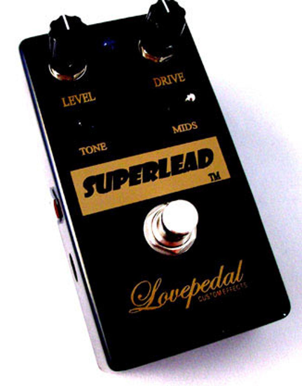 Lovepedal Announces Guitar Center-Exclusive Superlead Pedal