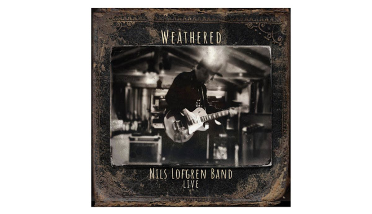 Nils Lofgren's Live Album, 'Weathered,' to be Released on August 21