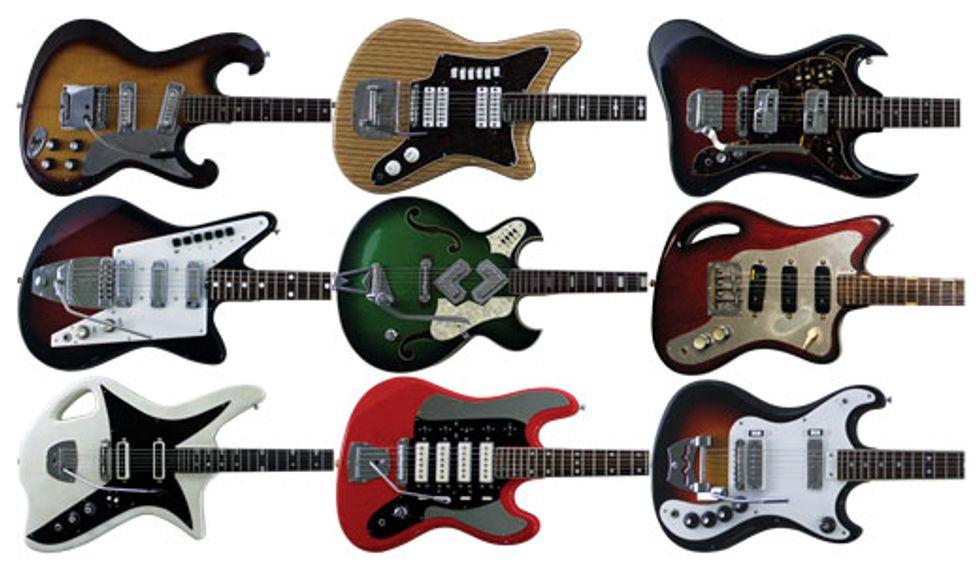 Weird Guitars: Vintage Freak Show | Premier Guitar