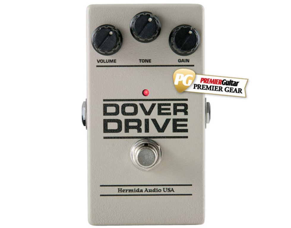Hermida Audio Dover Drive Review | Premier Guitar on