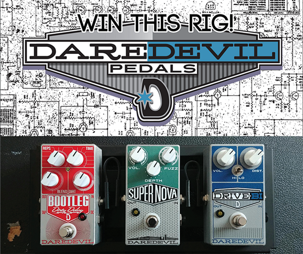PG Giveaways: Daredevil Pedals Pedalboard