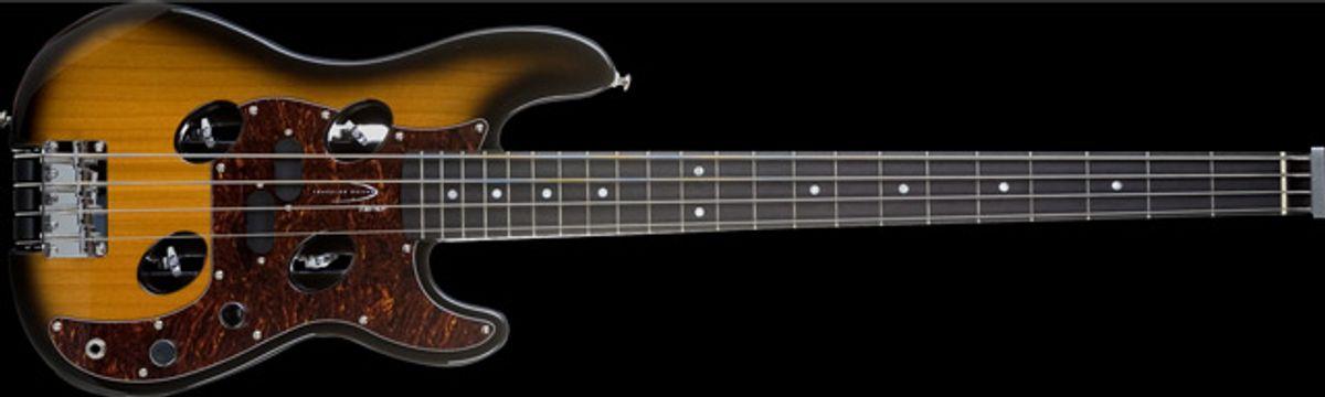 Traveler Guitar Introduces TB-4P Bass