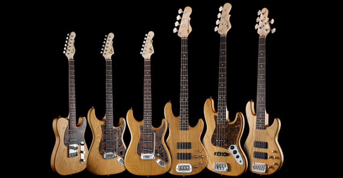 G&L Unveils New 2012 Special Collection