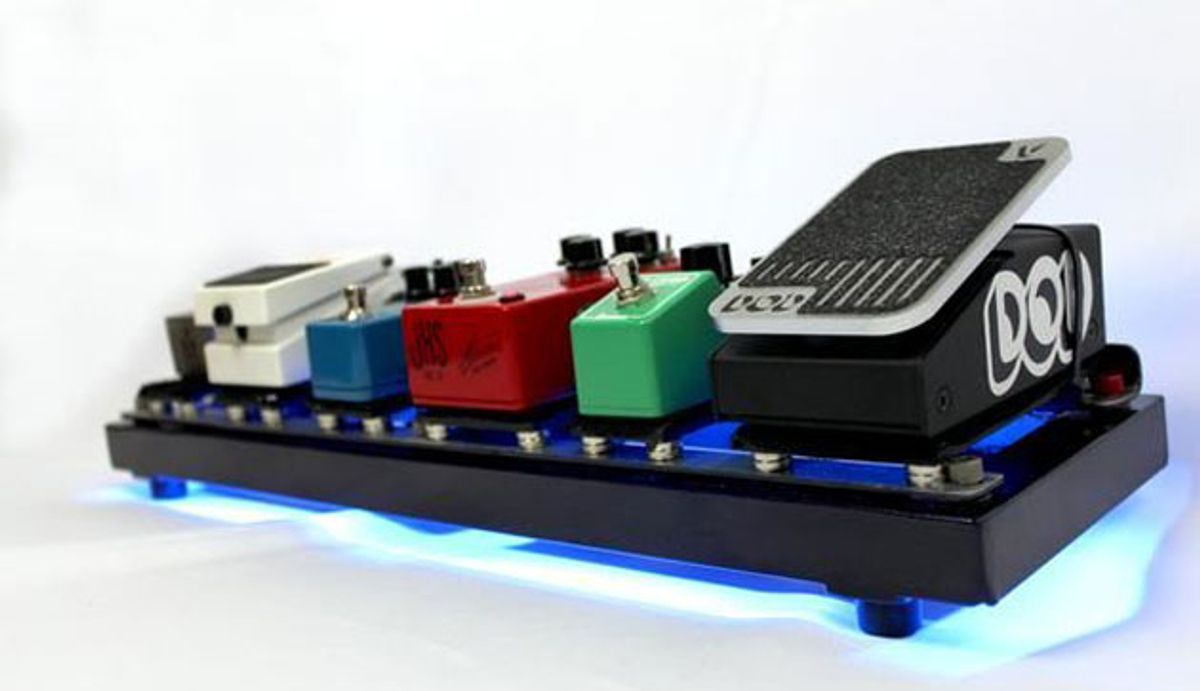 Earthboard Unveils Magnetically-Powered Pedalboard