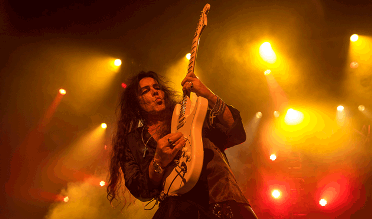 How Yngwie Malmsteen Unleashes the Fury